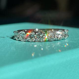 Tiffany & Co. - 超美品!ティファニー エンブレイス 3.5ミリ リング