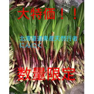 北海道天然物行者にんにく(野菜)