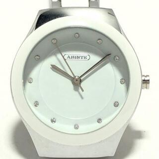 アビステ(ABISTE)のABISTE(アビステ) - レディース 白(腕時計)