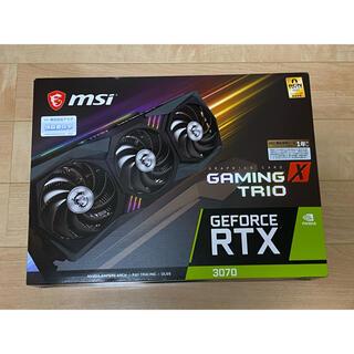 新品未開封 MSI GeForce RTX 3070 GAMING X TRIO