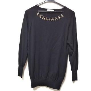 ジユウク(自由区)のジユウク 長袖セーター サイズ38 M 黒(ニット/セーター)