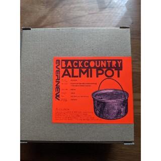 エバニュー(EVERNEW)のBACK COUNTRY ALMIPOT / バックカントリー アルミポット(登山用品)
