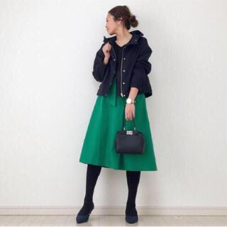 IENA - ★新品 タグ付き 完売品 GU ジーユー 美シルエット マウンテンパーカ M