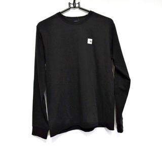 ザノースフェイス(THE NORTH FACE)のノースフェイス サイズM レディース 黒(Tシャツ(長袖/七分))