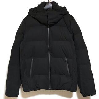 デサント(DESCENTE)のデサント メンズ - 黒 長袖/水沢ダウン/冬(ダウンジャケット)