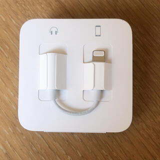 アイフォーン(iPhone)の【純正品】iPhone 変換アダプター(変圧器/アダプター)