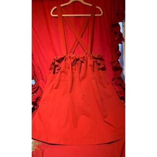 ピンクハウス(PINK HOUSE)のピンクハウスつりスカート(ロングスカート)