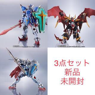 BANDAI - METAL ROBOT魂 騎士ガンダム 3点セット