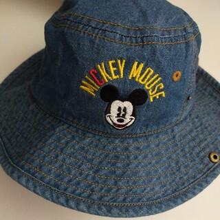 ミッキーマウス(ミッキーマウス)のDisneyデニムハット52cm(帽子)