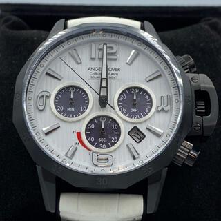 エンジェルクローバー(Angel Clover)のエンジェルクローバー男性腕時計白色クロノグラフ(腕時計(アナログ))