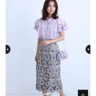 JUSGLITTY - ジャスグリッティ★配色レースタイトスカート