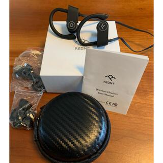 REDMT-U8 防水ワイヤレスイヤホン (IPX7水没防水対応)スポーツ(ヘッドフォン/イヤフォン)
