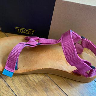 テバ(Teva)のTeva サンダル magenta  サイズ26.5  (サンダル)