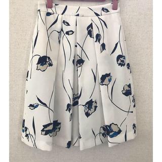 ザラ(ZARA)のZARA ザラ XS  フレアスカート 花柄スカート 膝丈スカート 膝下丈(ひざ丈スカート)