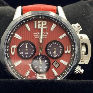 エンジェルクローバー(Angel Clover)のエンジェルクローバー男性腕時計赤ネイビークロノグラフ(腕時計(アナログ))