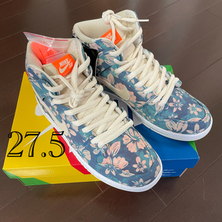 "NIKE - NIKE SB DUNK HIGH ""HAWAII"" 27.5cm 国内"