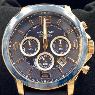エンジェルクローバー(Angel Clover)のエンジェルクローバー男性腕時計ネイビークロノグラフ(腕時計(アナログ))