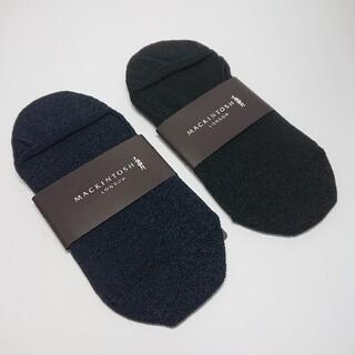 【新品タグ付き】マッキントッシュロンドン ソックス/靴下2足セット 25-27