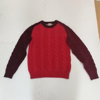 ユナイテッドアローズ(UNITED ARROWS)のユナイテッドアローズ、グリーンレーベル、セーター(赤)(ニット/セーター)