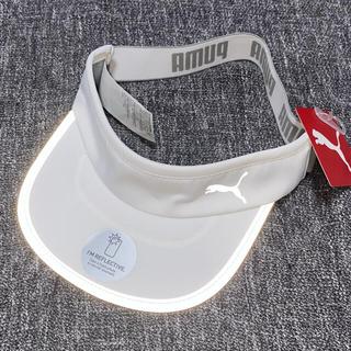プーマ(PUMA)の【専用】PUMA バイザー タグ付き未使用 ホワイトとブラック(その他)