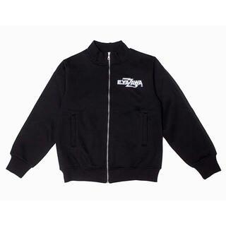 ヤザワコーポレーション(Yazawa)の矢沢永吉 E.YAZAWA トラックジャケット ロゴ シールド ブラック M(ミュージシャン)