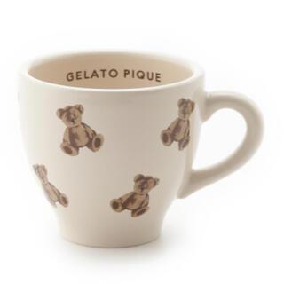 ジェラートピケ(gelato pique)のジェラートピケ マグカップ ベア(グラス/カップ)