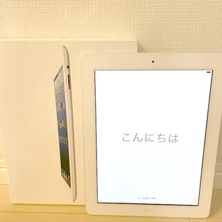 iPad - iPad第4世代 16GB 美品 ホワイトシルバー Wi-Fiモデル完全動作品