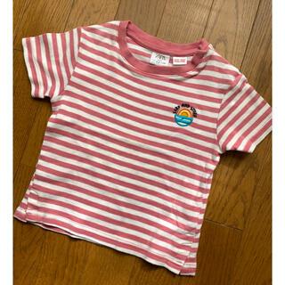 ザラ(ZARA)のZara Baby ボーダーTシャツ 2〜3歳 98㎝(Tシャツ/カットソー)