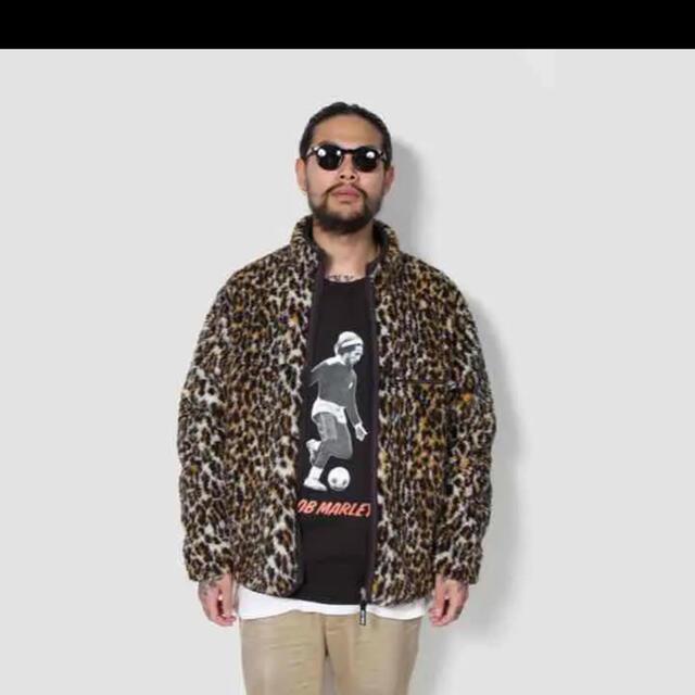 WACKO MARIA(ワコマリア)のワコマリア レオパード ボア フリース メンズのジャケット/アウター(ブルゾン)の商品写真