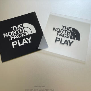 THE NORTH FACE - THE NORTH FACE PLAY ステッカー2枚組