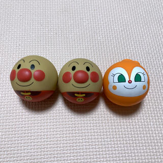 アンパンマン - アンパンマン  ボール 顔 おもちゃ ドキンちゃん セット