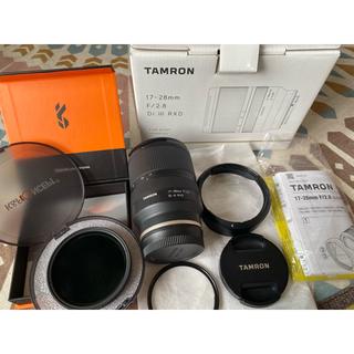 TAMRON - タムロン 17-28mm F2.8 ND可変&保護フィルター付き