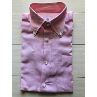 ルイジボレッリ(LUIGI BORRELLI)のルイジボレッリ リネンBDシャツ(シャツ)