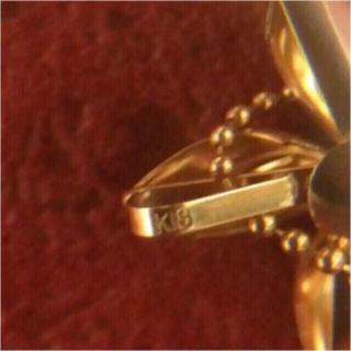 K18 ダイヤ ネックレス フラワーモチーフ