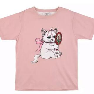 マリー おしゃれキャット 半袖Tシャツ ヒグチユウコ コラボ ディズニー