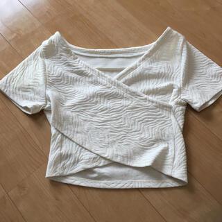 グースィー(goocy)のショート丈 トップス(Tシャツ(半袖/袖なし))