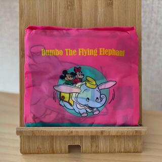 Disney - ディズニーランド エコバック ガチャガチャ 空飛ぶダンボ(ピンク)