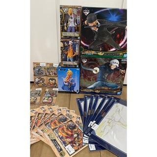 バンダイ(BANDAI)のワンピース 一番くじ Treasure cruise 全21点セット 新品未開封(キャラクターグッズ)