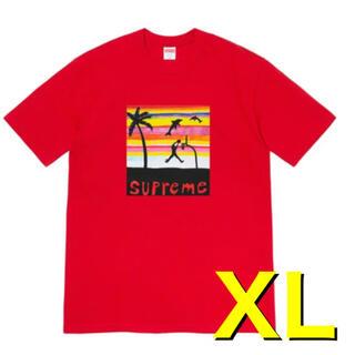 シュプリーム(Supreme)のSupreme Dunk Tee Red (Tシャツ/カットソー(半袖/袖なし))