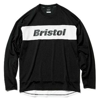 F.C.R.B. - F.C.Real Bristol L/S TOUR TEE XL BLACK 黒