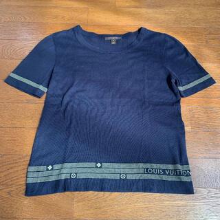 ルイヴィトン(LOUIS VUITTON)の国内正規品 ルイ ヴィトン  半袖ニット インスタ映え!(Tシャツ(半袖/袖なし))