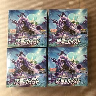 ポケモン(ポケモン)のポケモンカード漆黒のガイスト 新品未開封シュリンク付 4BOX(Box/デッキ/パック)