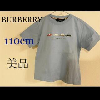 BURBERRY - ★美品★BURBERRY【110】優しい色合いのオシャレなTシャツです♪