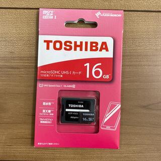 トウシバ(東芝)のTOSHIBA micro SDHC UHS-Iカード 16GB(その他)