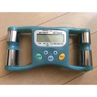 オムロン(OMRON)のオムロン体脂肪計 乾電池付き(体脂肪計)