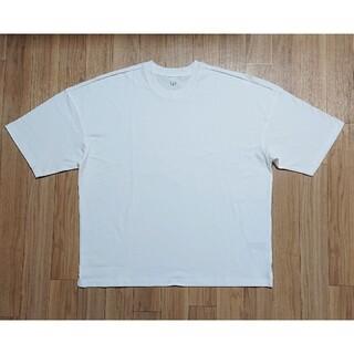 ギャップ(GAP)の新品 GAP ギャップ Tシャツ 白Tシャツ 無地 ビッグシルエット L(Tシャツ/カットソー(半袖/袖なし))