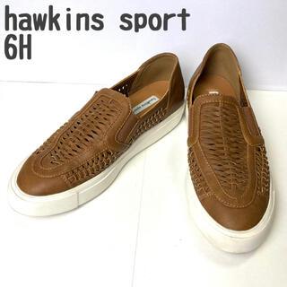 ホーキンス(HAWKINS)のhawkins sport ホーキンス スリッポン スニーカー サイドゴア 軽量(スリッポン/モカシン)