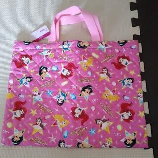 ディズニー(Disney)のディズニープリンセス レッスンバッグ 幼稚園 保育園 絵本バッグ 絵本袋(レッスンバッグ)