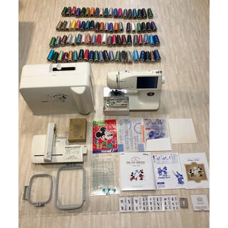 brother - brother 高級コンピュータ ミシン M-7000 刺繍カード 刺繍糸