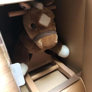 ロッキングポニー おもちゃ ロッキングチェア 馬 乗馬